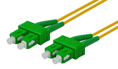 Picture of DYNAMIX 2M 9u SC APC/SC APC Duplex Single Mode G657A1 Bend Insensitive