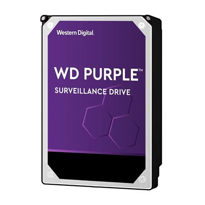 "Picture of WESTERN DIGITAL 3TB Purple 3.5"" Surveillance HDD. 64MB SATA3,"