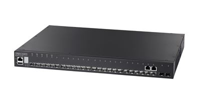 Picture of EDGECORE 28 Port Gigabit L2 Managed DC Powered Switch.