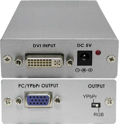 Picture of CYP DVI-D to VGA/Component Active Converter. Max Res: