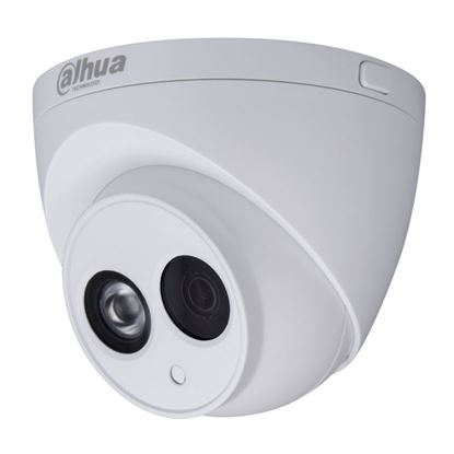Picture of DAHUA 4MP IR Turret IP Camera, 2.8mm Fixed Lens. Micro SD.