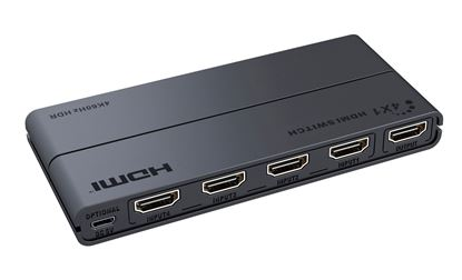 Picture of LENKENG 4 in 1 Out HDMI Switch. Supports UHD 4K2K@30/60Hz.