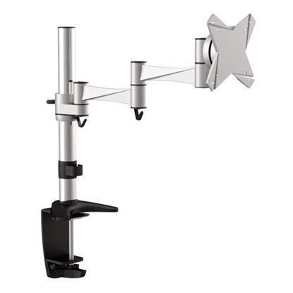 Picture of BRATECK 13'-27' Monitor desk mount Rotate, extend, tilt and swivel.