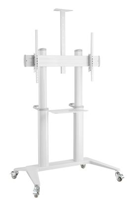 "Picture of BRATECK 70""-120"" Large Screen Ultra-strong Mobile TV Cart."