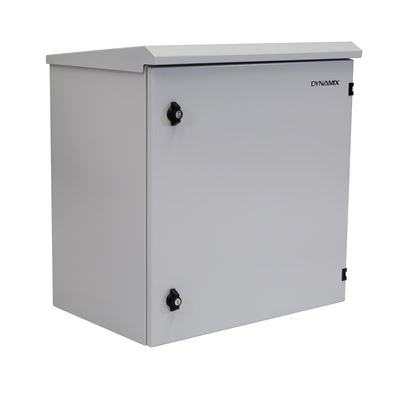 Picture of DYNAMIX 12RU Outdoor Wall Mount Cabinet. External Dims 611x625x640.