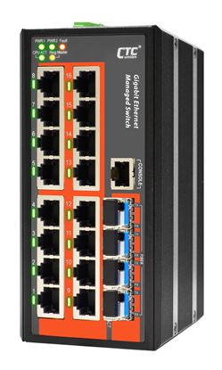 Picture of CTC UNION 16 Port Gigabit Managed