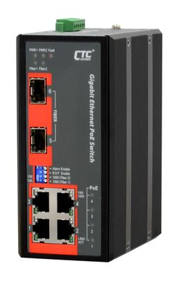 Picture of CTC UNION 4 Port Gigabit Unmanaged